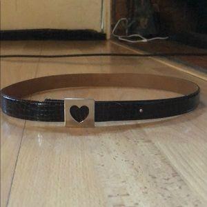 moschino brown belt